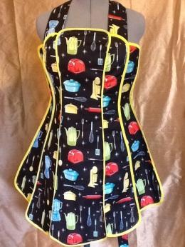 Vintage kitchen apron