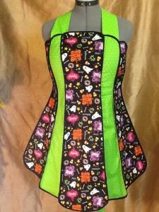 Halloween apron 2