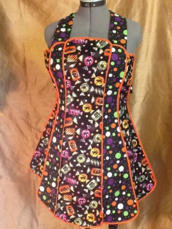 Halloween apron 1